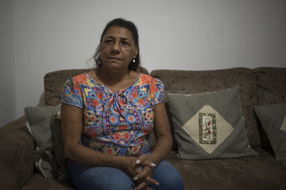 March, 19, 2018. 8pm. Five days after the murder of the activist I was at Dona Marinete home on an assignment for Marie Claire Brazil, to do a  portrait of Marielle's mother.