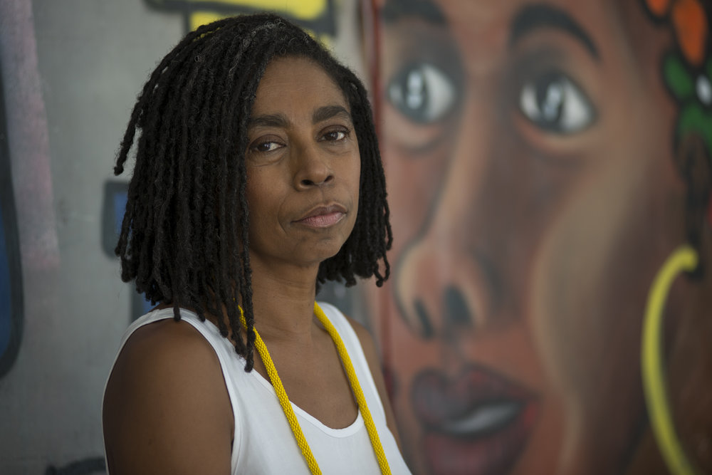 """March, 20, 2018. 12pm. In the next day, a portrait of  Jurema Werneck,Amnesty International's Brazil director , for Marie Claire Brazil. In an article published on Amnesty International website, she said:  """"This a chilling development and is yet another example of the dangers that human rights defenders face in Brazil. As a member of Rio de Janeiro's State Human Rights Commission, Marielle worked tirelessly to defend the rights of black women and young people in the favelas and other marginalized communities."""""""