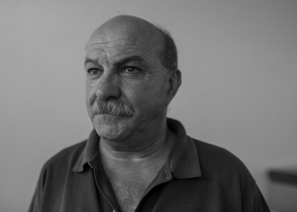 José Domingues, 61, comandante dos Bombeiros Voluntários de Castanheira de Pera, Portugal. Setembro 2018. © Lucas Landau