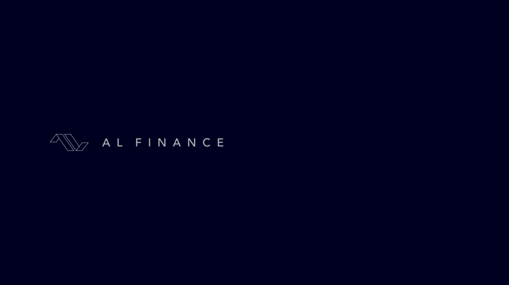AL FINANCE Visual Identity Guide Designed by threefold Agency Cover