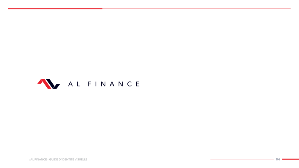AL FINANCE Visual Identity Guide Designed by threefold Agency Page 7