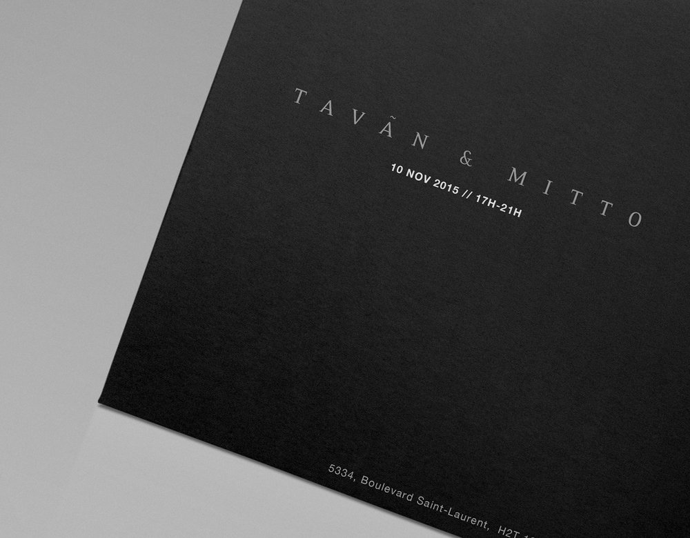Graphic Design for Tavan & Mitto 10th Anniversary by threefold agency 4