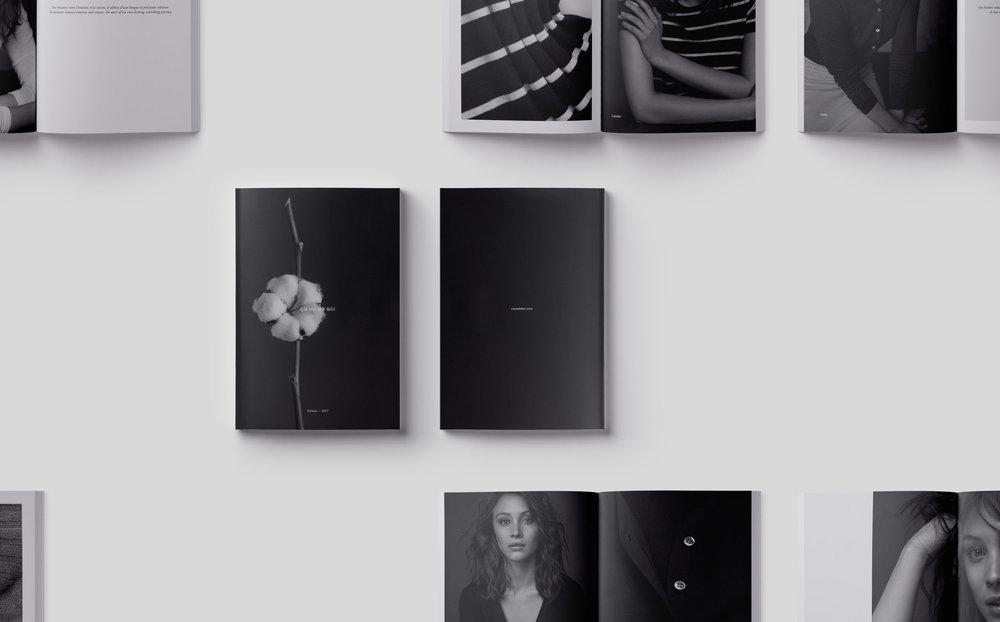 threefold - Art Direction, Editing & Graphic Design for ça va de soi