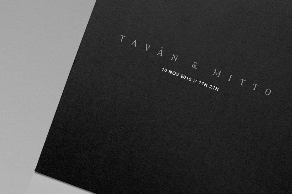 Graphic Design for  Tavãn & Mitto 10th Anniversary