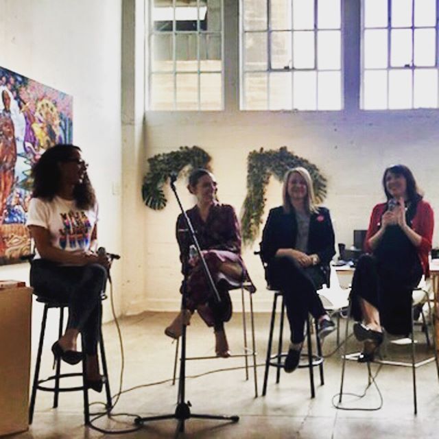 I was honored to be on the panel with @drsherryr and @tharealrainbow for VivaLaVulvaLA this past Saturday! Such a great event and discussion! Check out VivaLaVulvaLA.org for more info. Thank you @vivalavulvala and @rengallery