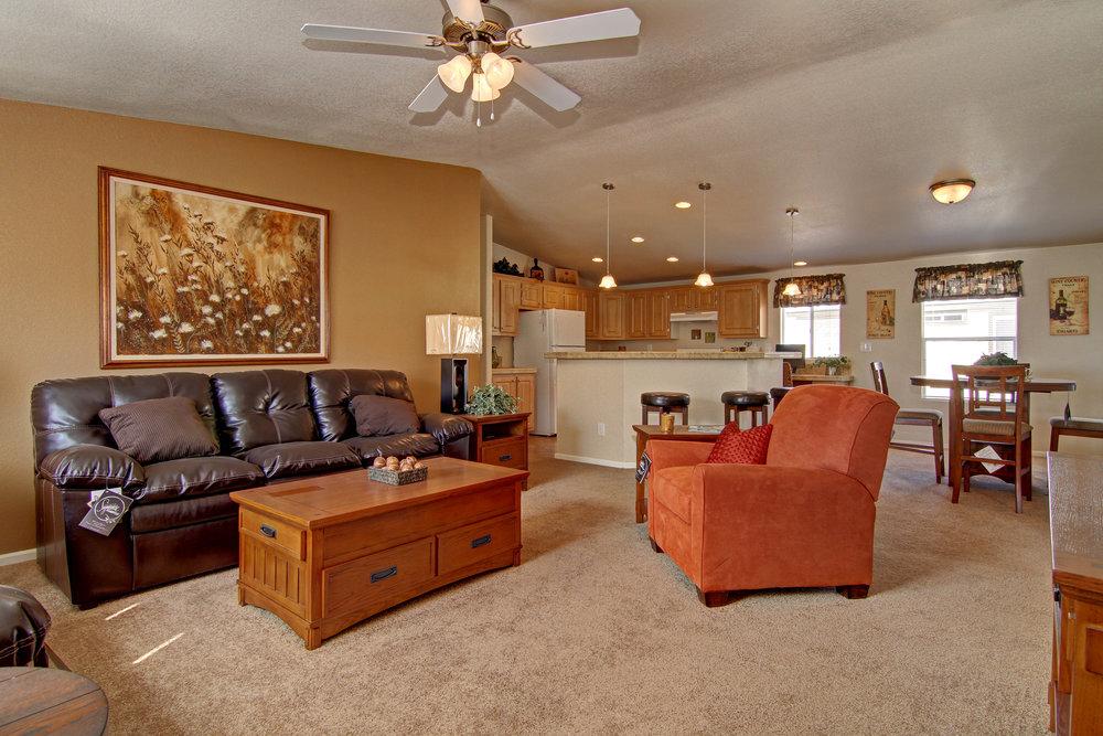 American Spirit Homes, Sunrise Series–Santa Fe, NM