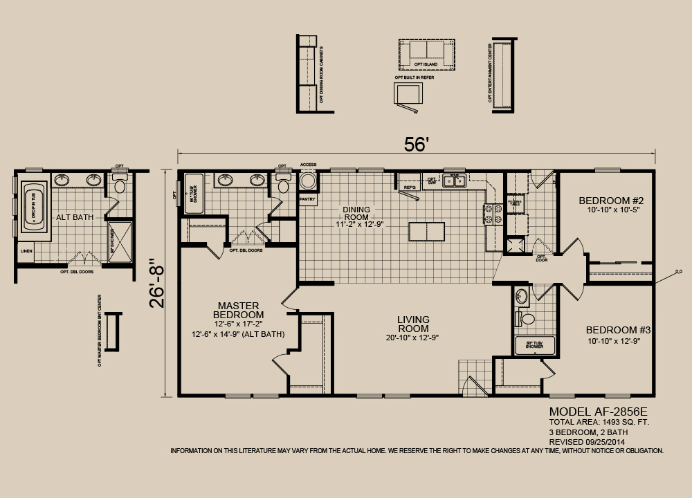 American Spirit Homes-American Freedom 2856, Floor Plan