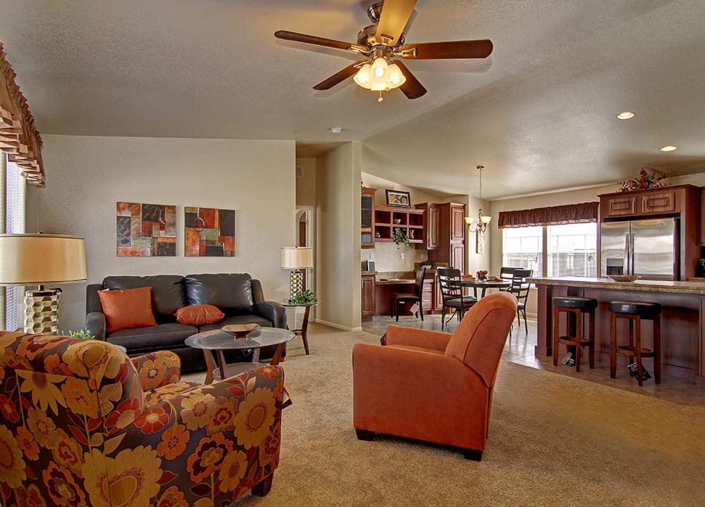 American Spirit Homes-American Freedom 2856, Living Room
