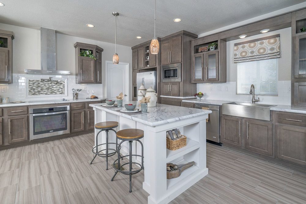 American Spirit Homes-American Freedom 3266, Kitchen 2