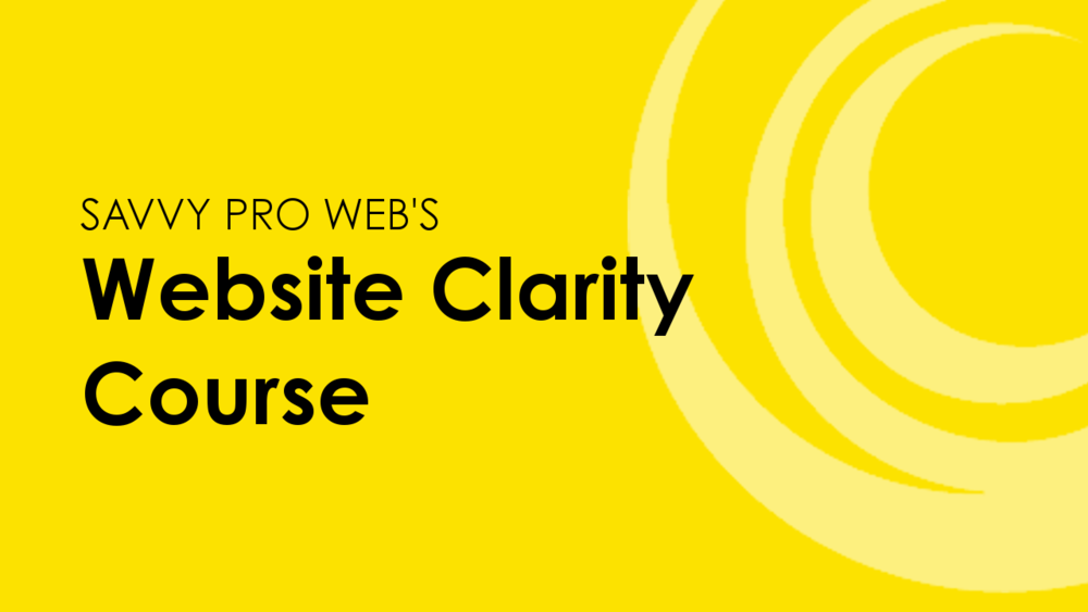 Website Clarity Course