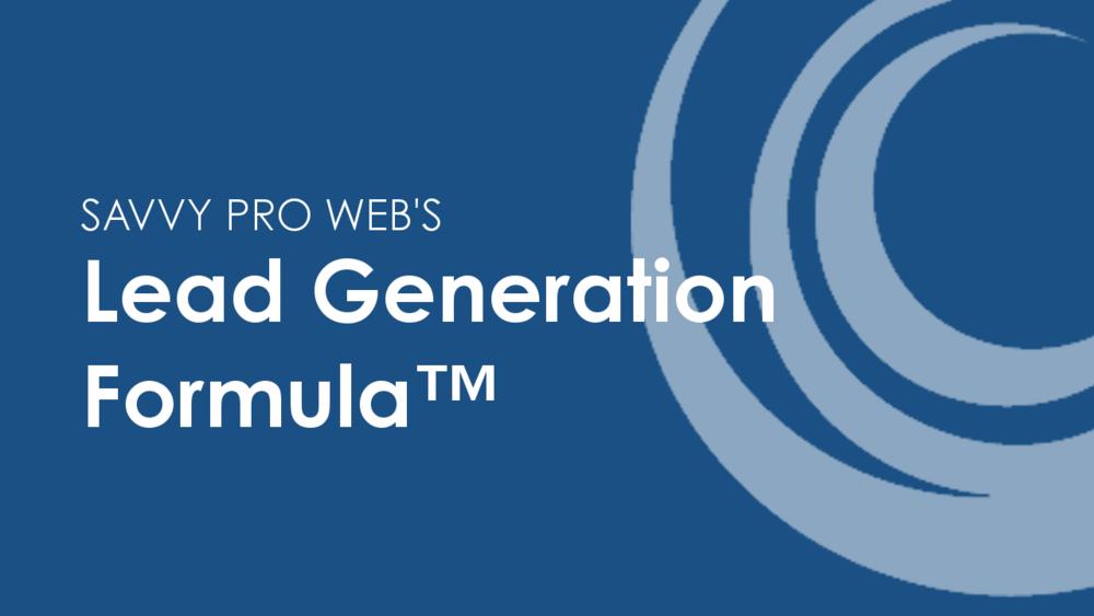 Lead Generation Formula