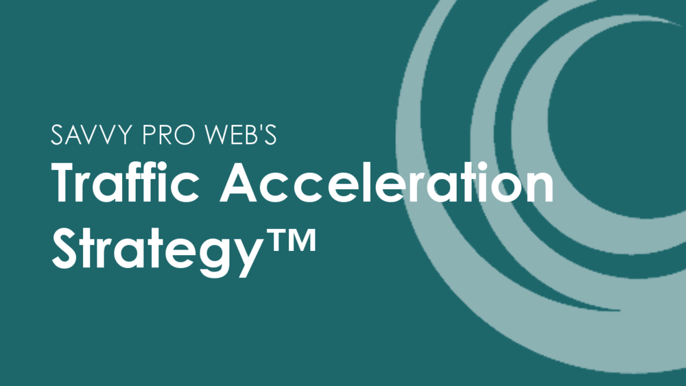Traffic Acceleration Strategy