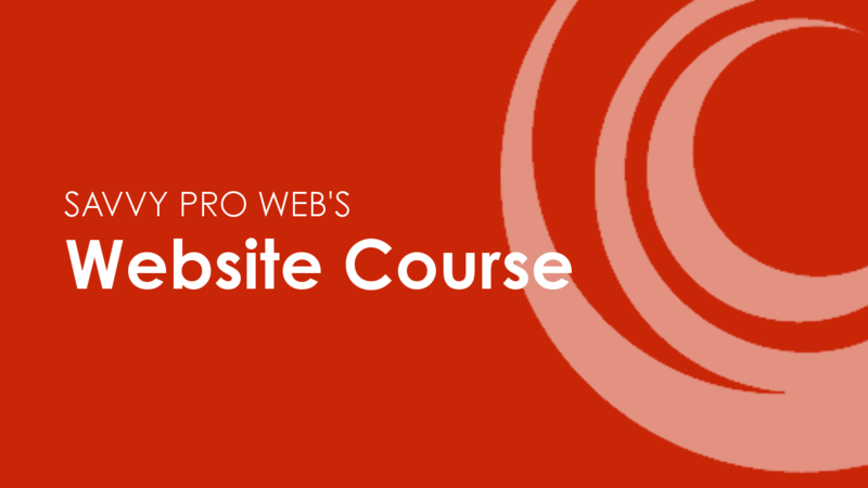 The Website Course