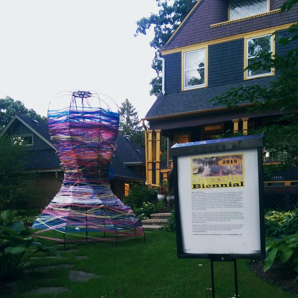 Pileus IV, Terrain Biennial, Oak Park, Illinois, 2015
