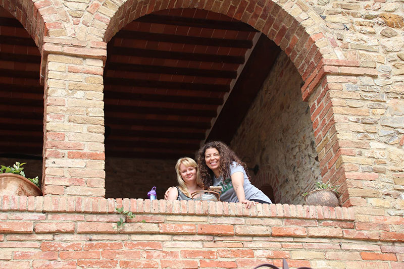 "I love to travel and have gone on retreats in Puerto Rico and Vermont with Amber Cook and Diana Oppenheim. This fall, I traveled to Tuscany to participate in Jen Pastiloff's annual retreat,  ""Manifesting Under the Tuscan Sun."""