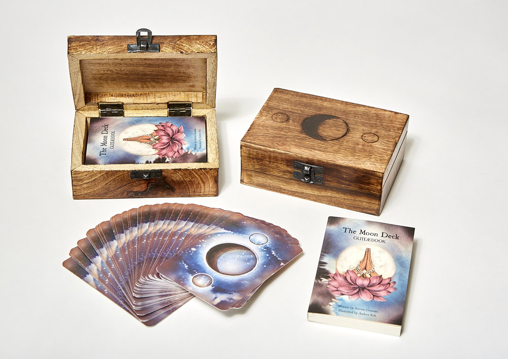 The Moon Deck Set - By Aarona Lea Pichinson and Andrea Keh