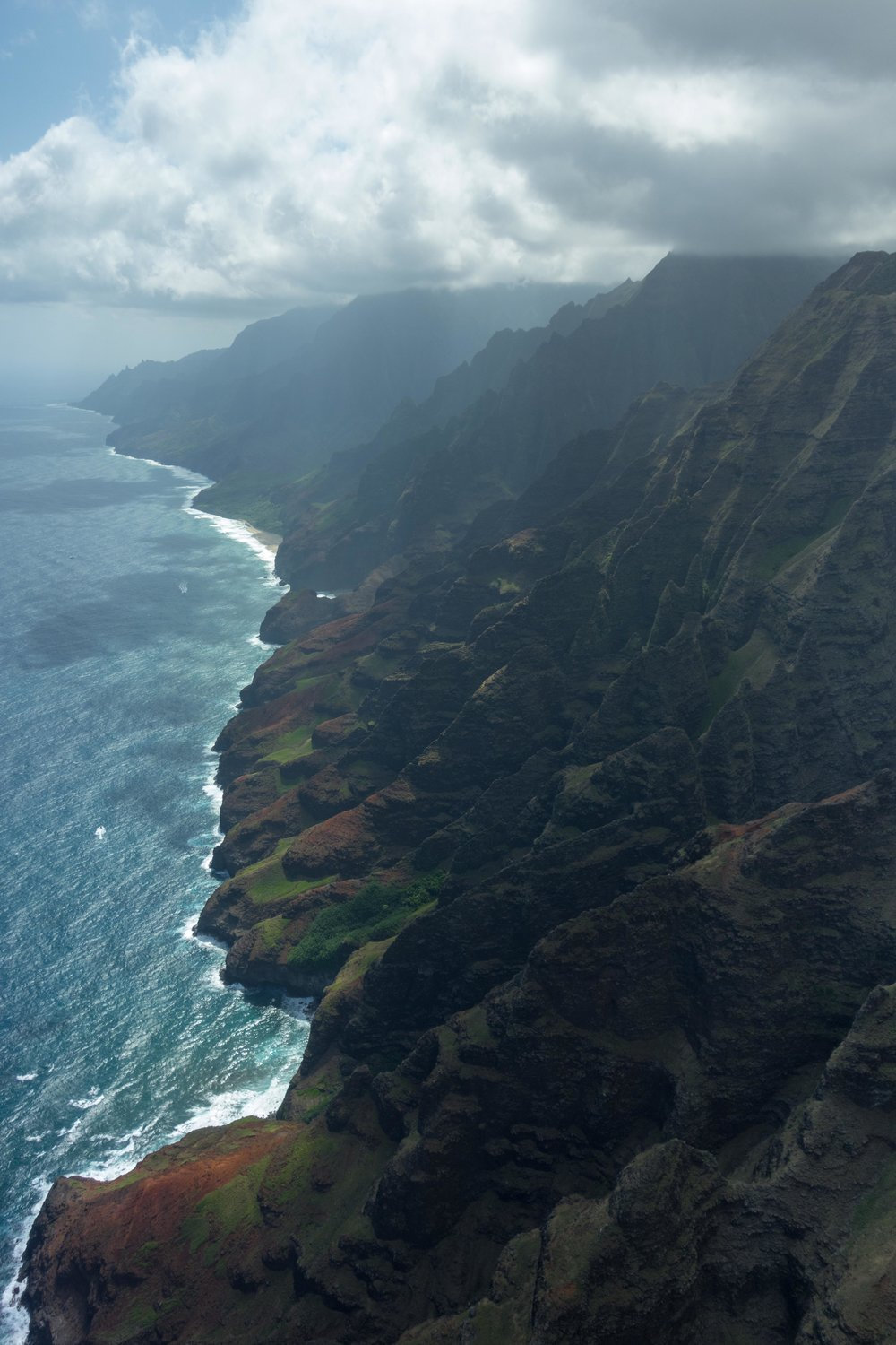 Kauai's Na Pali Coast; read the Washington Post article  here .