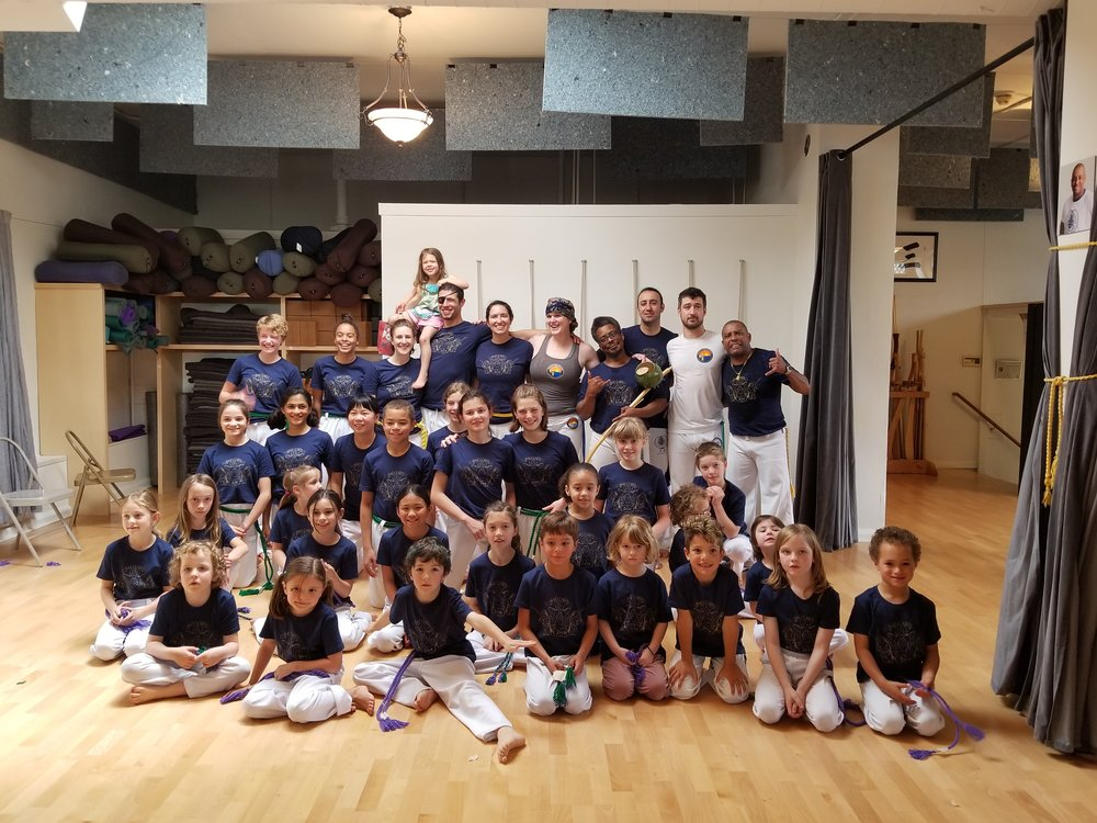 Capoeira Besouro Oregon April 2018