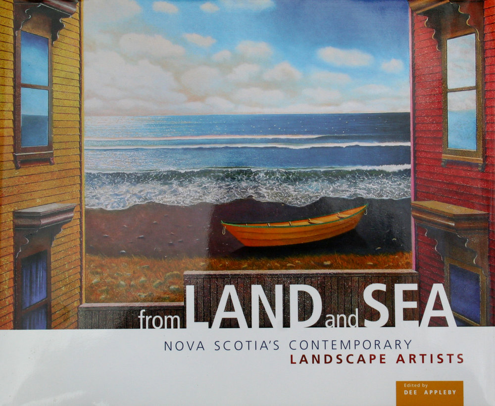 Bob was one of 25 artists selected to represent Nova Scotia's top landscape artists in a new book, From Land and Sea.