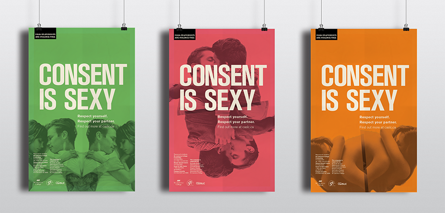 Consent Is Sexy Campaign Type Study Re Design