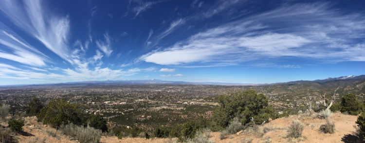 Panoramic views from Sun Mountain