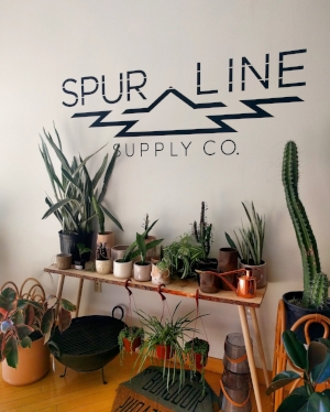 Find one-of-a-kind home goods, jewelry, clothing and more from local artisans at Spur Line Supply Co.