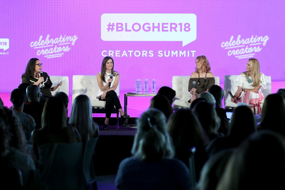 BlogHer18 Creators' Summit - Logan was part of a panel at BlogHer18's Creators' Summit where she spoke about sexual health, female empowerment, emergency contraception, and the importance of calling out health systems that don't benefit female sexuality and reproductive health.