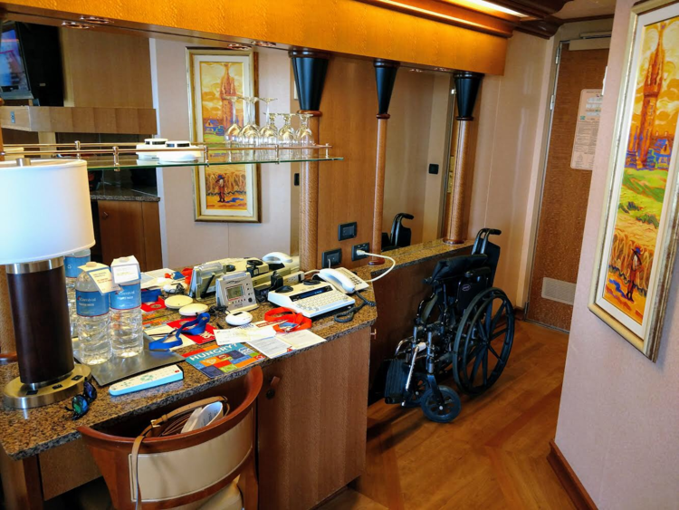 Our room had the deaf kit when we arrived.