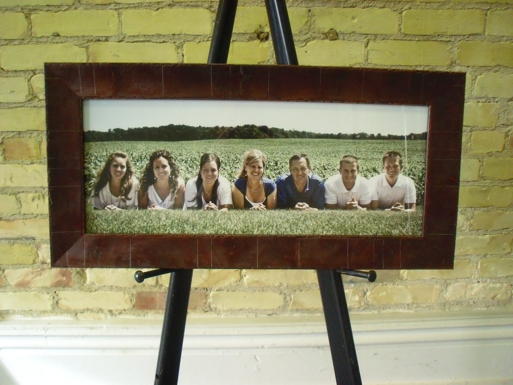Custom Framed Family Photo