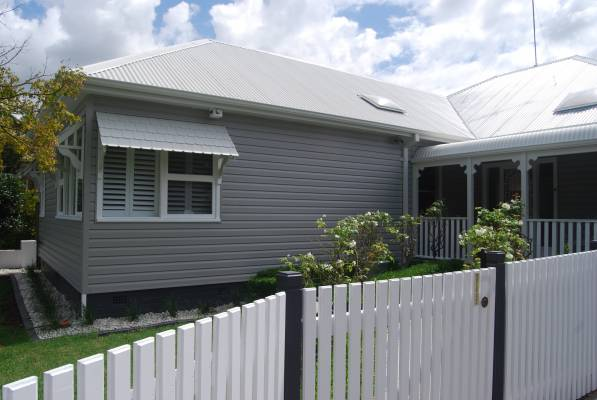 Estate Grey Duratuff Thermal Insulated Vinyl Cladding - West Ryde