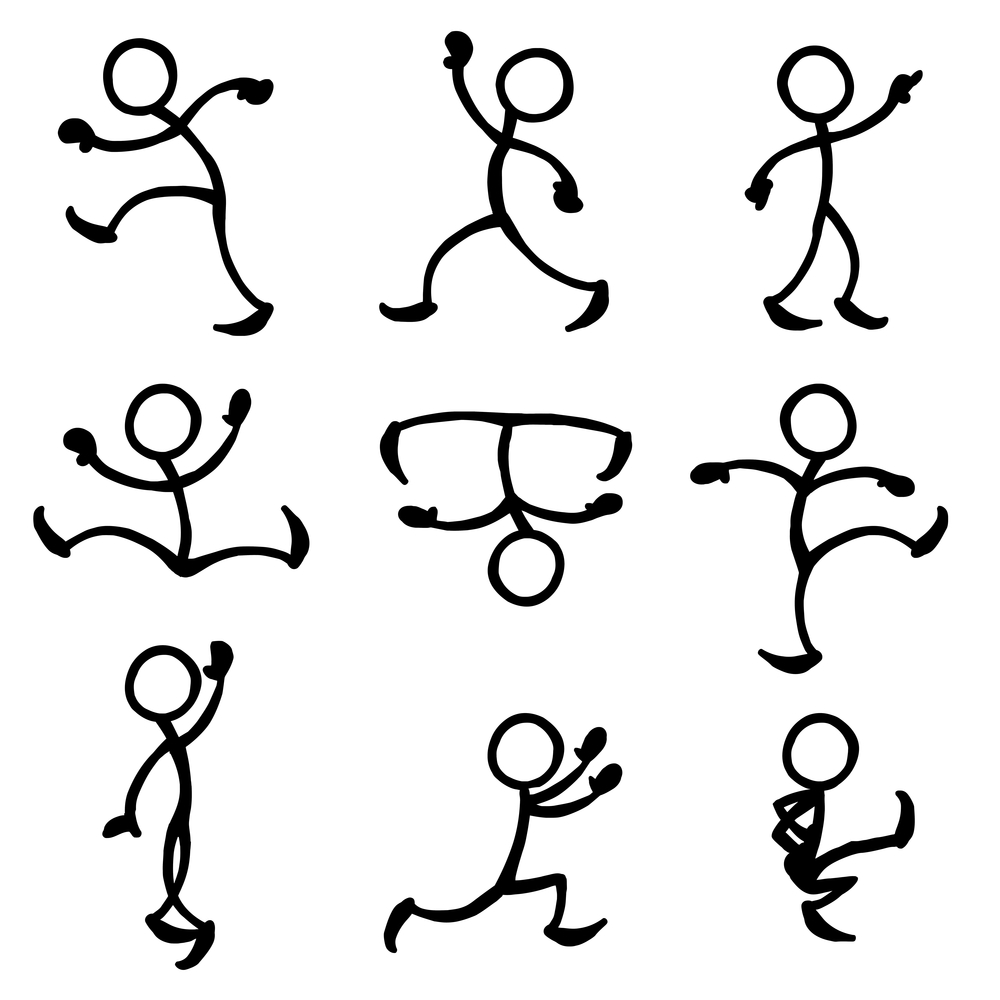 Dancing stickfigures...not quite helpful, but certainly entertaining!
