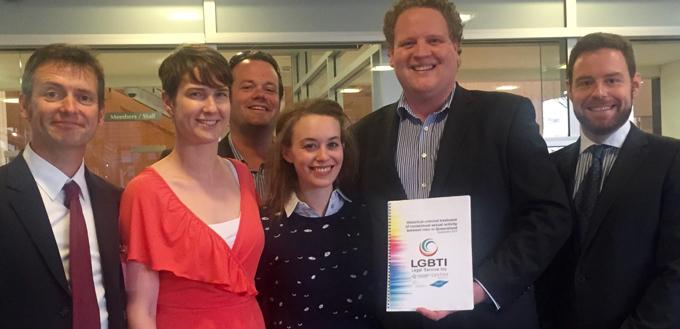 Homosexuality decriminalised queensland