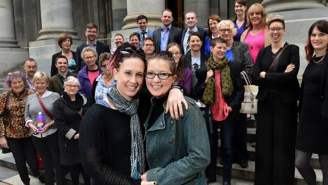 Laws protecting and lesbian couples, chicks with two dicks cum shots