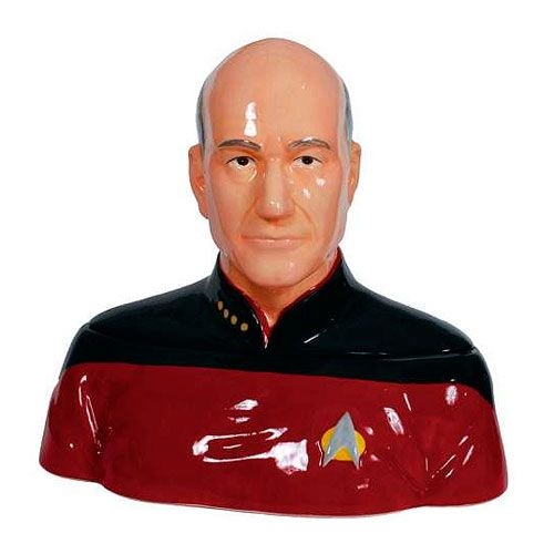 Thanks for reading! Here's a picture of a Picard cookie jar for you...only problem is it looks nothing like Picard.
