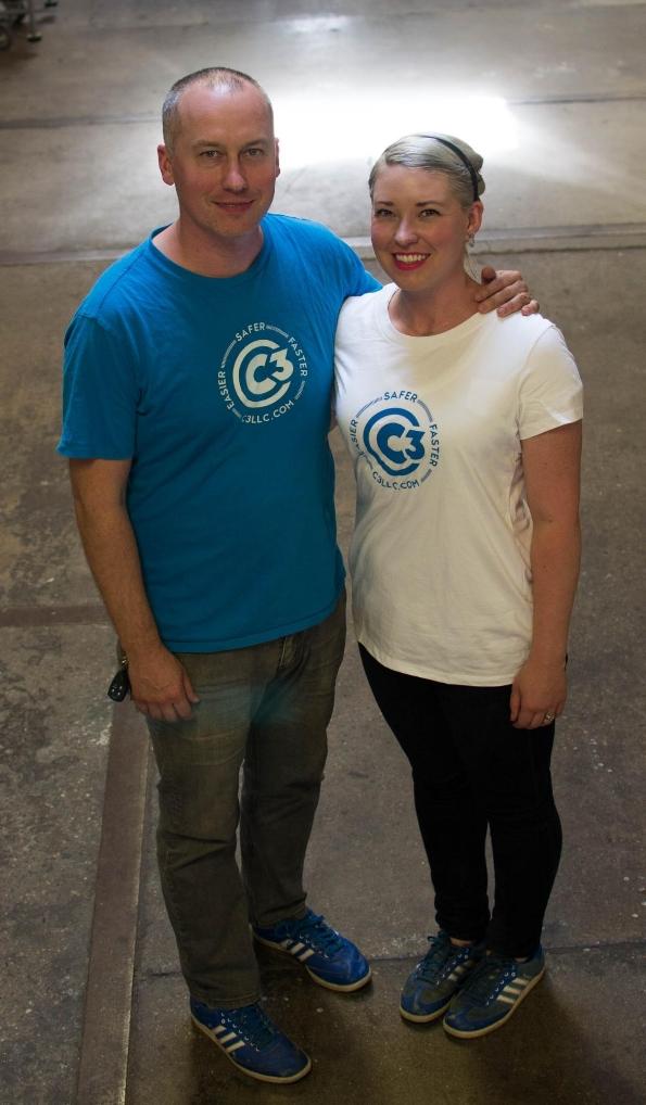 Justin & Kassie Grimes, owners of C3 LLC