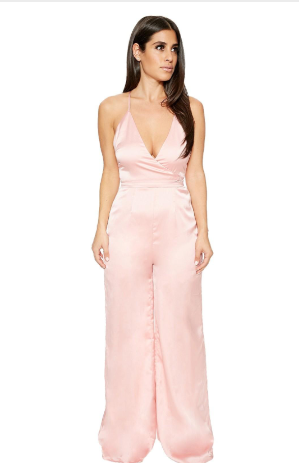 Stolen in Silk Jumpsuit, $24 nakedwardrobe.com