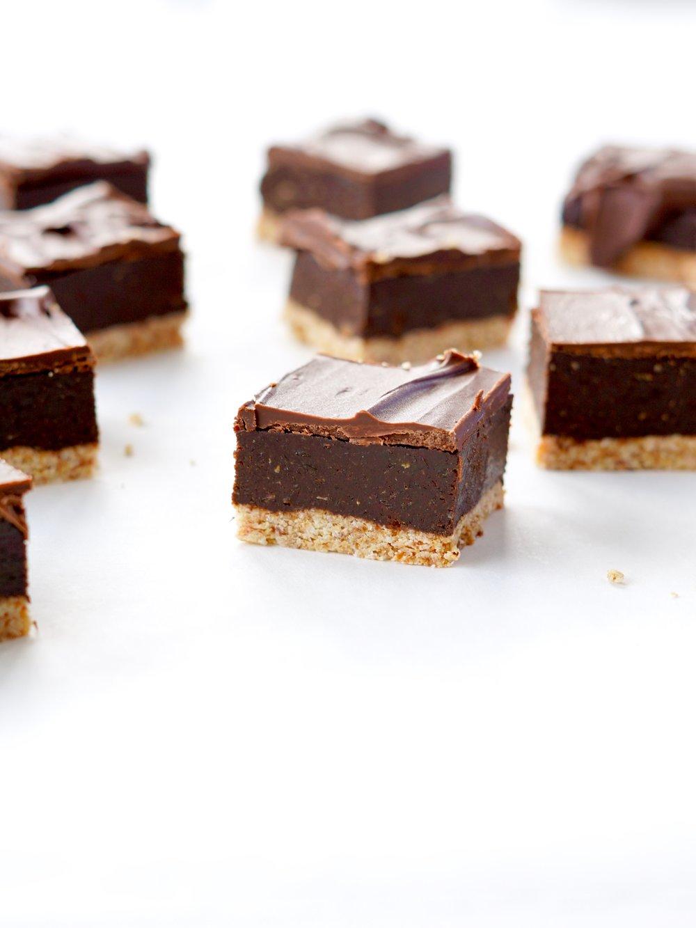 Tahini Caramel Slice