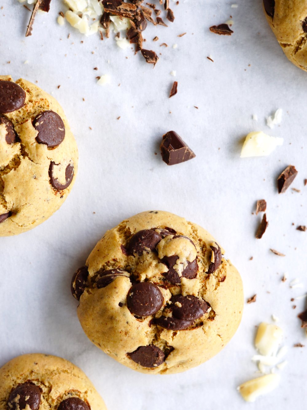 The Best Ever Choc Chip Cookies