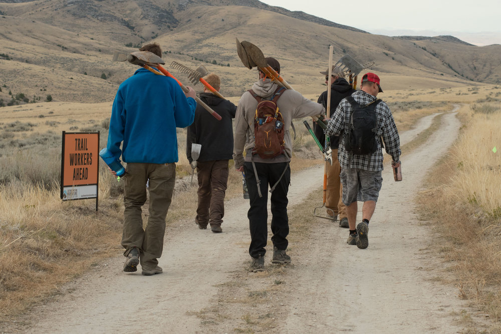 Help us keep these guys occupied building new trails by giving SWMMBA a monthly recurring donation this year!