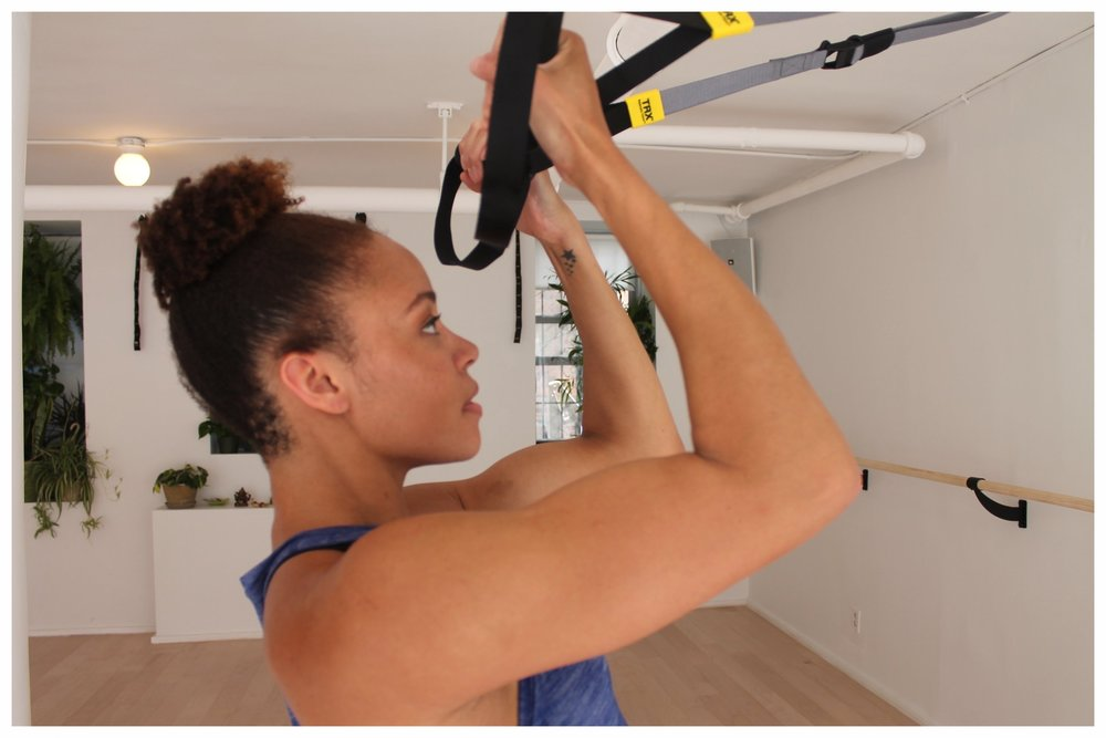 TRX: A whole body suspension workout for everyone! TRX will strengthen your entire body leaving you feeling fully empowered and more alive with each class.
