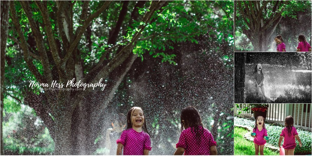 Backyard Fun! | Candid Family Photography by Norma Hess Photography McAllen, TX