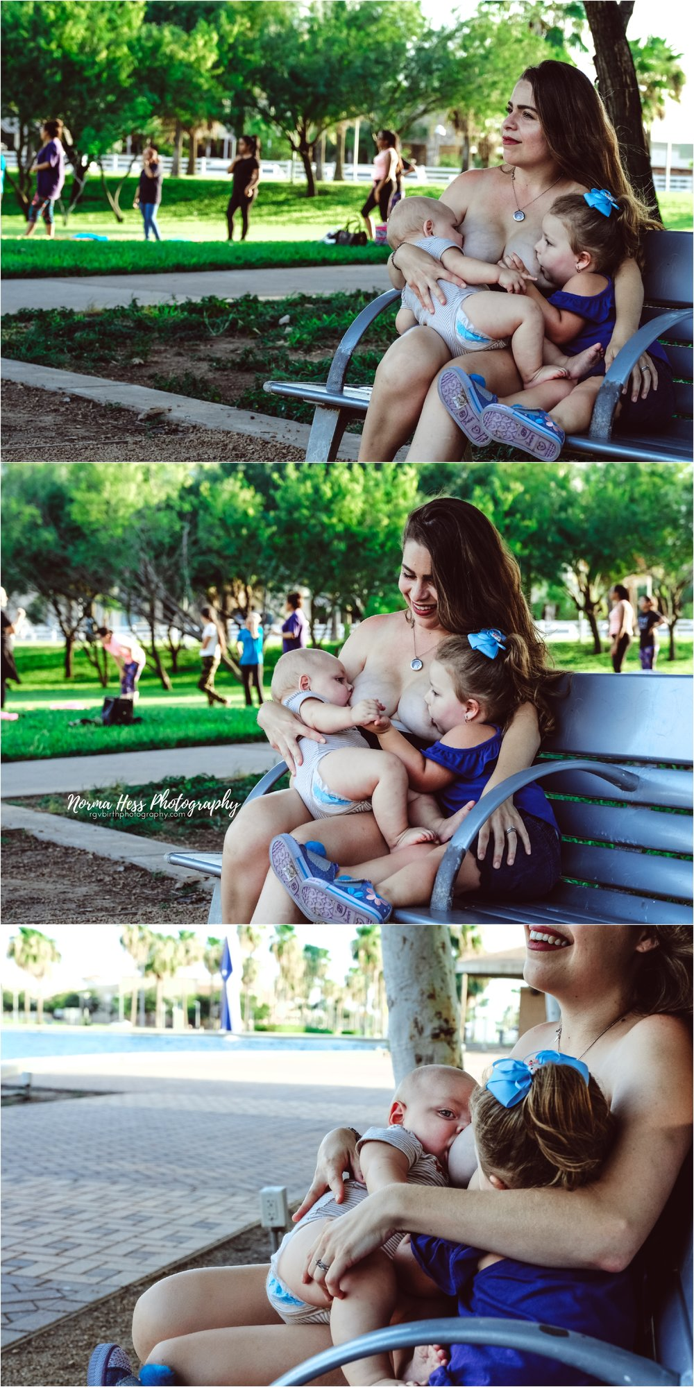 Tandem nursing in McAllen, TX | Breastfeeding Photography Sessions by Norma Hess Photography | rgvbirthphotography.com