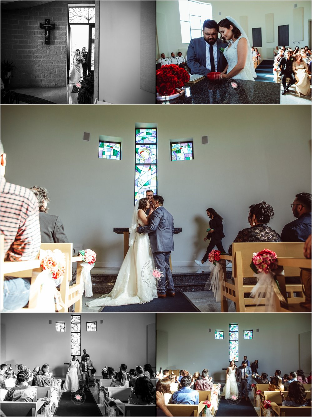 Candid Wedding Photos captured by Norma Hess Photography | Intimate Wedding Edinburg, TX