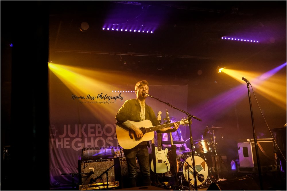 Tommy Siegel performing with Jukebox The Ghost at the Empire in Austin, TX | Photo by Norma Hess Photography