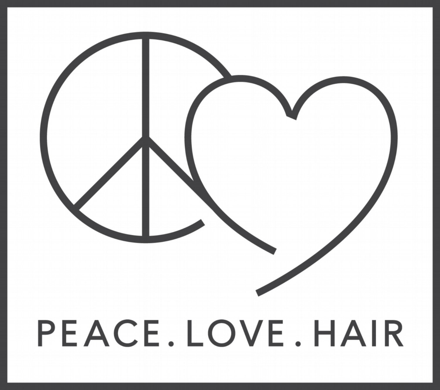 Peace. Love. Hair.