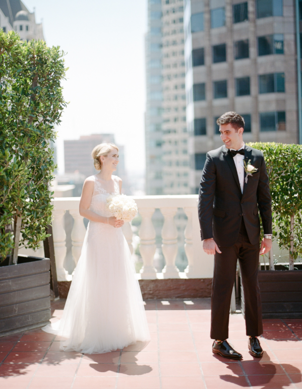 A Classically Elegant Los Angeles Spring Wedding