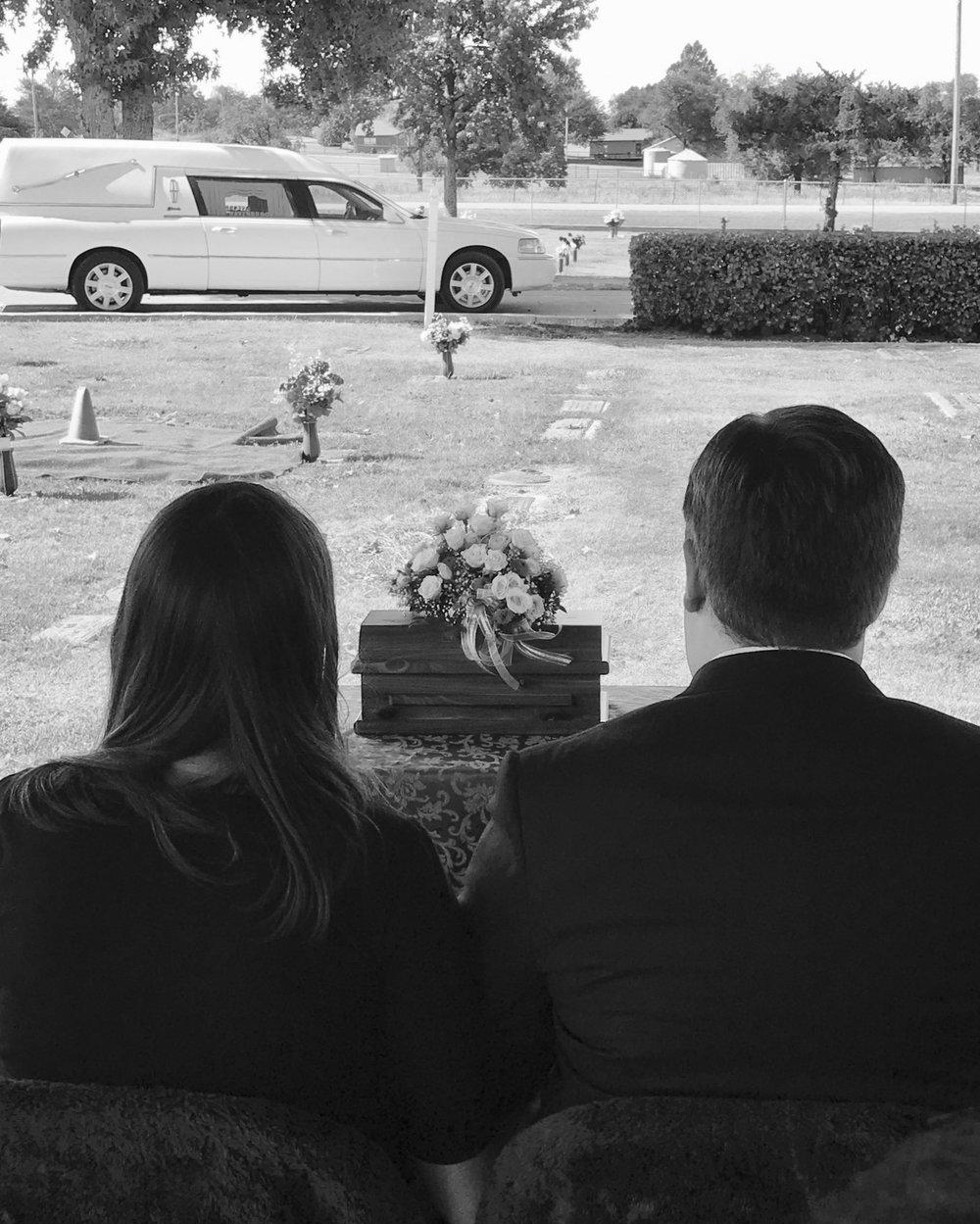 teagan's funeral