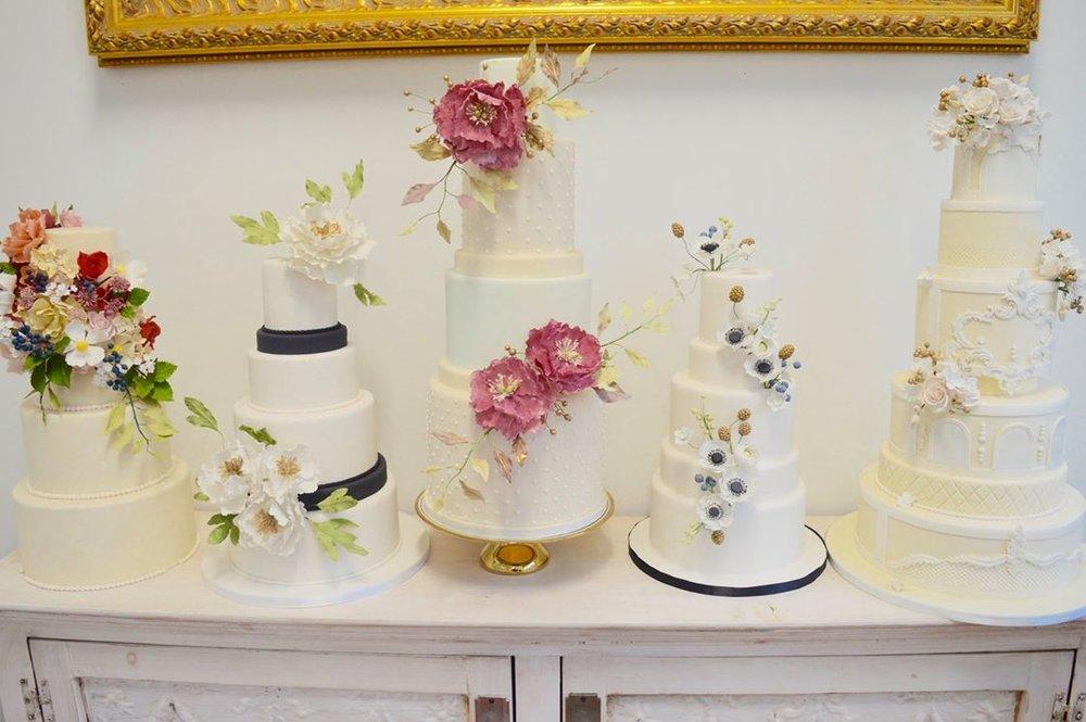 Cake models from Amanda's studio. PC : Habiba Abudu