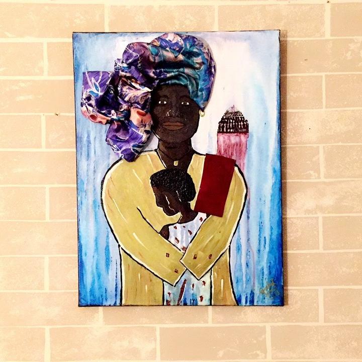 "Rachel ""SunRai"" Sims.  Untitled ,2013."