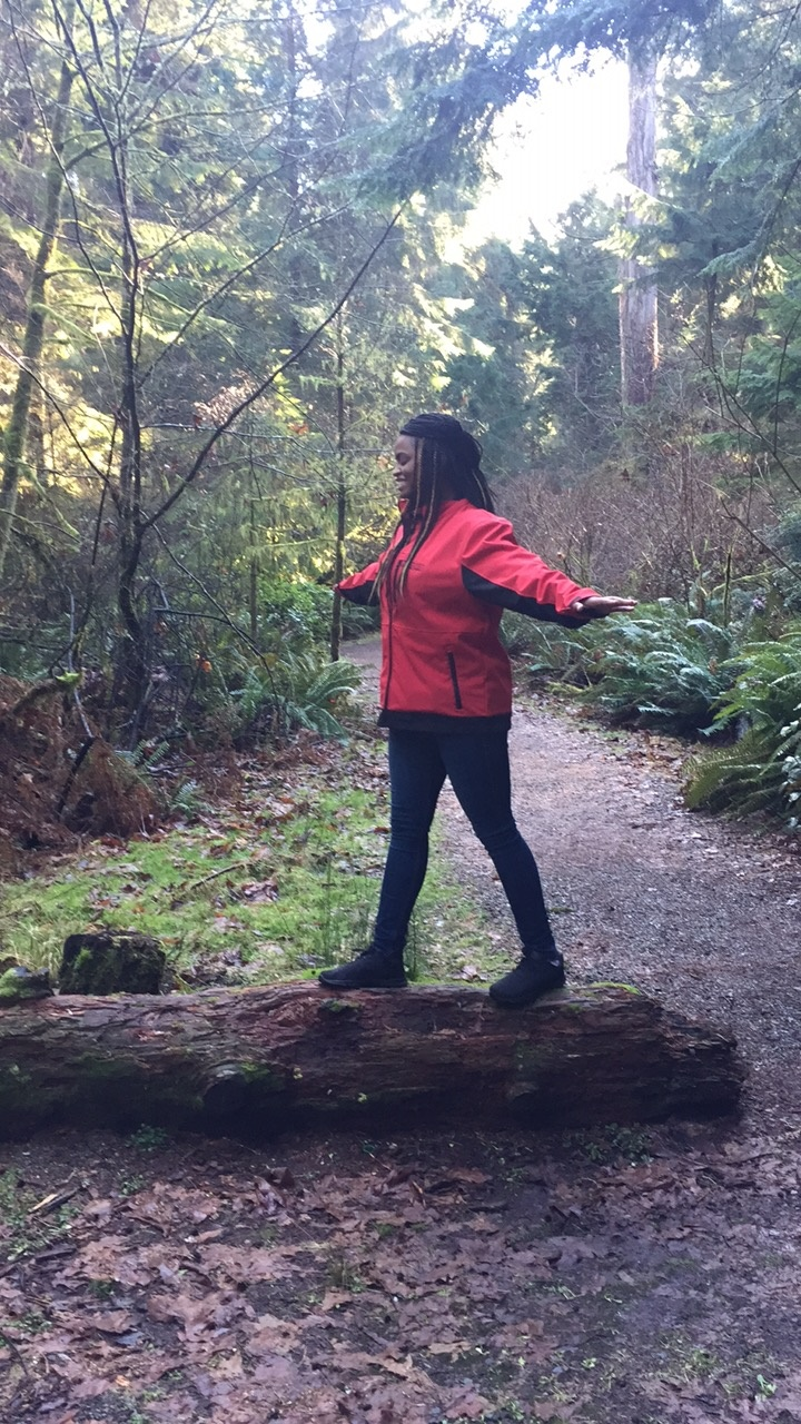 Shavonne ( @vonne_kaye ) is an author and the blog curator for All Things Inspiration. She enjoys traveling, fitness, movies and the arts. Read the the first post of the four-part series  here and the second part  here  to learn how she made room to nurture friendships in a meaningful way. Pictured here in Point Defiance Park (Tacoma, WA).
